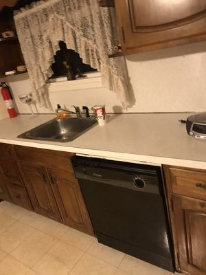 Full kitchen cabinet with appliances for Sale in Robbinsville, NJ