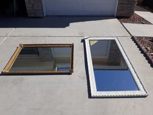 Mirrors. Each $60 or both $100 for Sale in Las Vegas, NV