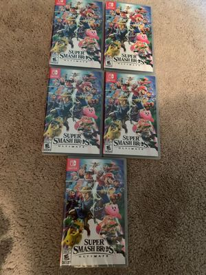 Super Smash Bros (Nintendo Switch) for Sale in Alexandria, VA