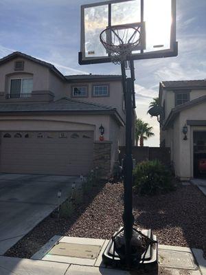 """Adjustable basketball hoop 54"""" for Sale in Las Vegas, NV"""
