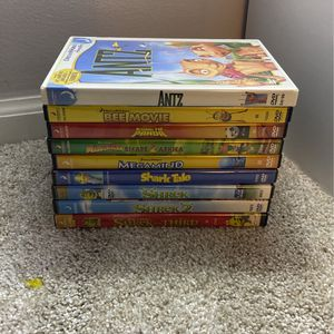 DVD LOT DREAMWORKS (9 MOVIES TOTAL) for Sale in Columbus, OH