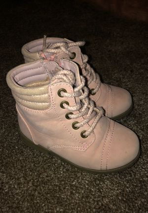 Pink 7c toddler girl boots for Sale in Antioch, CA