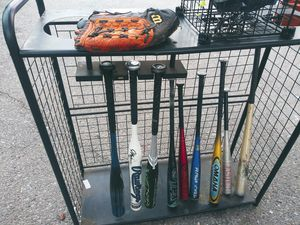 Baseball bat and stand for Sale in San Bernardino, CA
