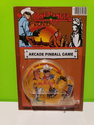 Lone Ranger & Tonto Arcade Pinball Game 1985 for Sale in Reinholds, PA