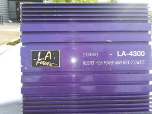 L.a. power mosfet high power amp for Sale in Sacramento, CA