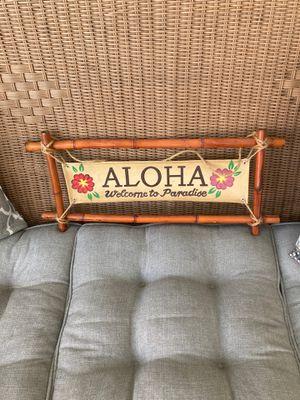Aloha sign for Sale in Auburndale, FL