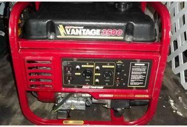 Coleman Powermate Vantage 3500 Watt Generator for Sale in Portland,  OR