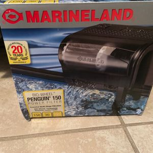 Bio Wheel PENGUIN 150 Power Filter By MARINELAND For Fish Tank for Sale in Brandon, FL