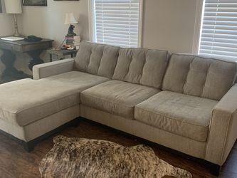 Gray Upholstered Sofa for Sale in Atlanta,  GA