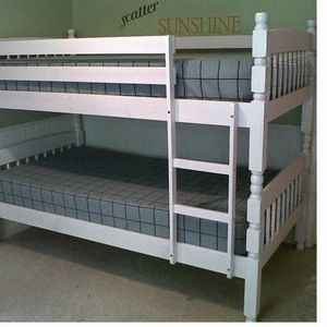 $499.00 (New In Boxes) Twin/Twin Solid Wood Bunk Beds With Mattresses for Sale in Atlanta, GA