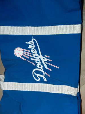 Small dodgers duffle bag celebrating Jackie Robinson 50th anniversary 1947-1997 for Sale in Fontana, CA