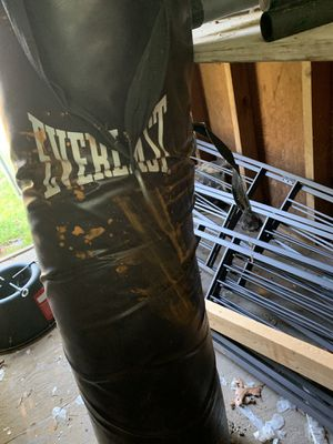 Everlast Punching Bag for Sale in Randolph, MA