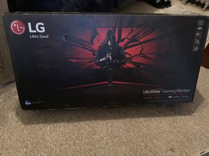 """34"""" LG UltraWide gaming monitor for Sale in Cranston, RI"""