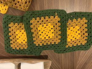 Sweet boho vintage crochet pot holders 5 for $18 for Sale in Phoenix, AZ
