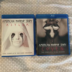 American Horror Story Seasons 2&3 Bluray for Sale in Pleasanton, CA