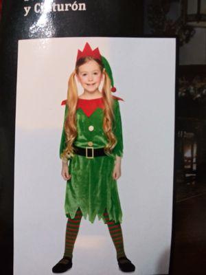 Santa's Helper Dress Costume. NEW. Child Size X-Large (12-14) for Sale in Phoenix, AZ