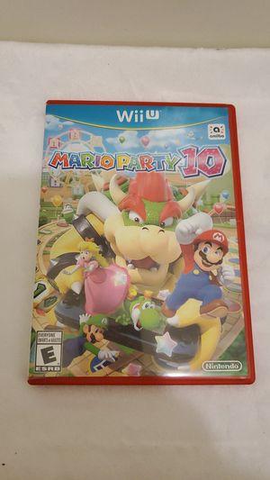 *pending* Mario Party 10 Nintendo Wii for Sale in Arlington, WA
