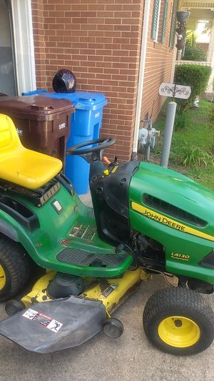 "John Deere riding tractor mower 21hp 48"" cut for Sale in Chesapeake, VA"