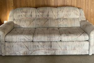 FREE....... Rocker/Recliner - Sofa bed couch for Sale in Austin, TX