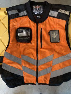 Motorcycle Reflector Fly Vest (XL-3X) for Sale in El Cajon, CA
