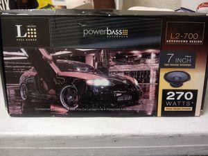Brand New Set Of 7 Inch Speakers 270 Watts for Sale in Norfolk, VA