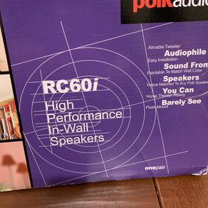 Polk RC60i Speakers, 3 Of Them, Brand New for Sale in El Cajon, CA
