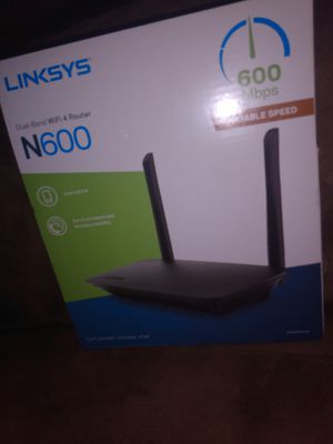 Linksys N600 dual band wifi 4 router for Sale in Winter Haven, FL