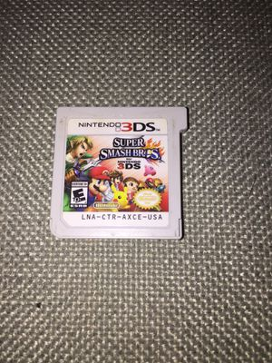 Super Smash Bros 3Ds for Sale in Los Angeles, CA