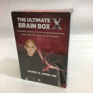 The Ultimate Brain Box X Dr Daniel Amen Complete 10 DVD Box Set for Sale in Sarasota, FL