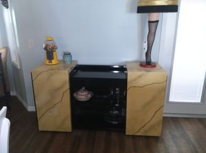 Custom designed dining cabinet/bar for Sale in Cocoa, FL