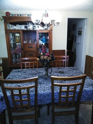 Used, Table, Chairs, & Hutch for Sale for sale  Acworth, GA
