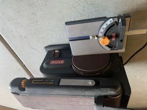 Sander 4 IN. X 36 IN. BELT & 6 IN. DISC SANDER for Sale in Chandler, AZ