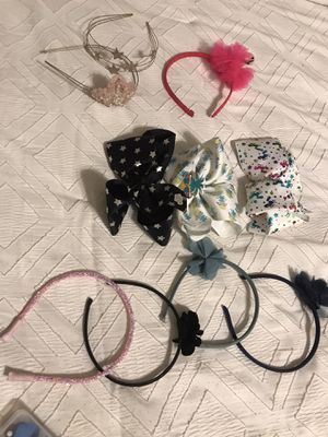 JoJo bows and assorted head bands for Sale in Henderson, NV