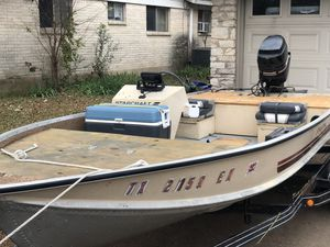 1986 Starcraft bass boat for Sale in Austin, TX