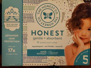 Honest size 5 diapers for Sale in LA CANADA FLT, CA