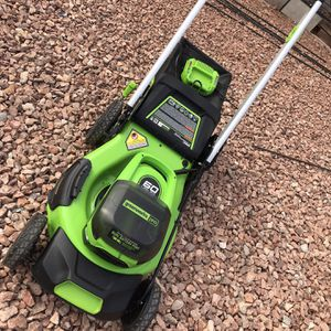 Greenworks PRO Self-Propelled 21in Cordless Electric Lawnmower for Sale in Las Vegas, NV