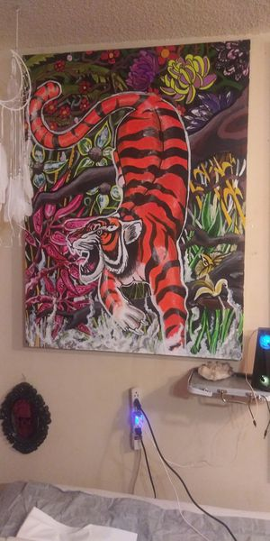 Tiger painting for Sale in Jacksonville, FL