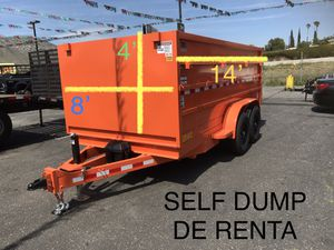2020 DUMP 4x8x14 for Sale in Riverside, CA