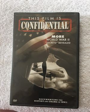 DVD This Film Is Confidential World War II for Sale in Aurora, IL