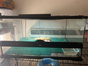 Reptile tank. for Sale in Stockton, CA