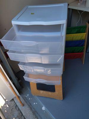 Plastic drawer storage for Sale in Kennesaw, GA