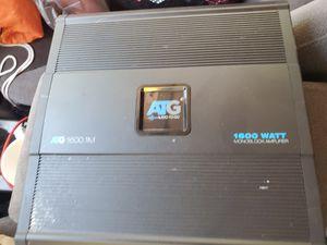 ATG 1600 watt amp for Sale in Harrison charter Township, MI