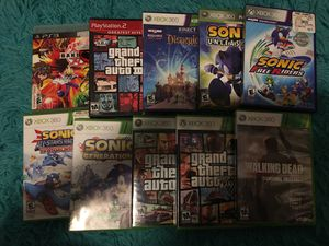 Video game bundle for Sale in Stockton, CA