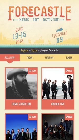 Forecastle ticket with bourbon lounge access for Sale in Nashville, TN