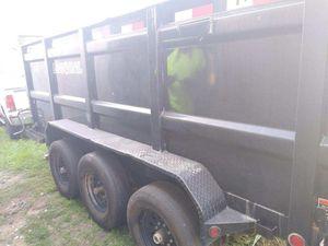 7x16 load trail dump trailer for Sale in Tampa, FL