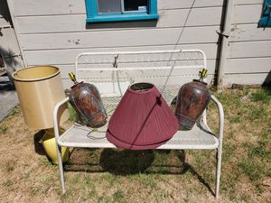 Antique lamps with shades for Sale in Oakland, CA