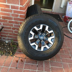 Toyota Tacoma Rims And Tires Trd Off Road Rims And Tires for Sale in Mission Viejo, CA