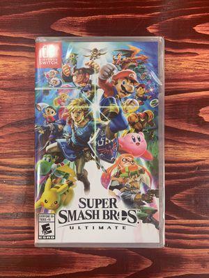 Nintendo Switch Super Smash Bros Ultimate for Sale in Norridge, IL
