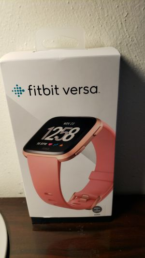 Fitbit Versa brand new in box! Firm pricing. Retails for 199.00 for Sale in Virginia Beach, VA