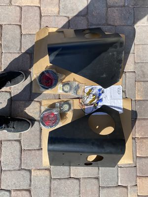 2001 mustang gt parts, jeep warrior tail light corners led light for Sale in Henderson, NV